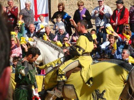 Средневековый турнир в Бенидорме